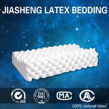 100% natural latex contour massage pillow