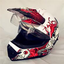 Cross helmet with DOT VR-168 helmets motocycle