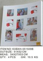 multi opening photo frames new items on market KXBXH-551509B