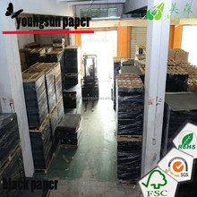 guangzhou matt papier 150g schwarz kraftpapier in rollen