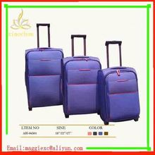 H600 Hot sale trolley luggage, best travel business carry-on nylon luggage