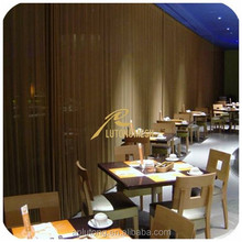 Modern architectural design metal mesh drapery/metal coil drapery from China supplier