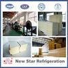 Manufacturer pu polyurethane sandwich panels for chiller room