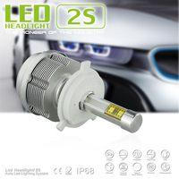 Newest h4 led headlight bulb,exporters car headlight halo