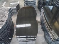Low Price Wholesale Black Granite Tombstones/Headstones/Monuments/Gravestones