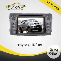 excellent quality for toyota hilux dvd gps radio player support Bluetooth