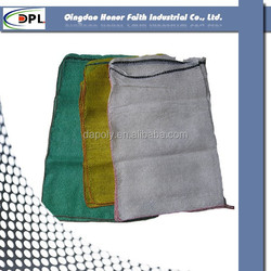 Best sale PP mesh bag for potato,leno mesh bag,drawstring mesh bag