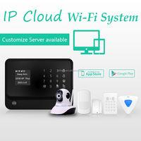 APP Home alarm GSM security alarm system RFID keypad and APP control WiFi GSM GPRS alarm system