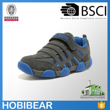 Wholesale factory shoes kids velcro sports shoes