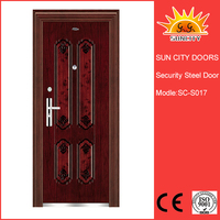 Hot sale india free six steel safety door factory SC-S017