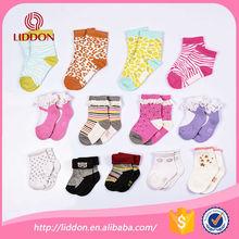China OEM socks factory provide cute young girls socks