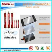 uv3317-Liquid optical clear adhesive/UV LOCA glue for smart phones touch screen reparation