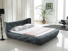 king size white modern europe leather sofa bed