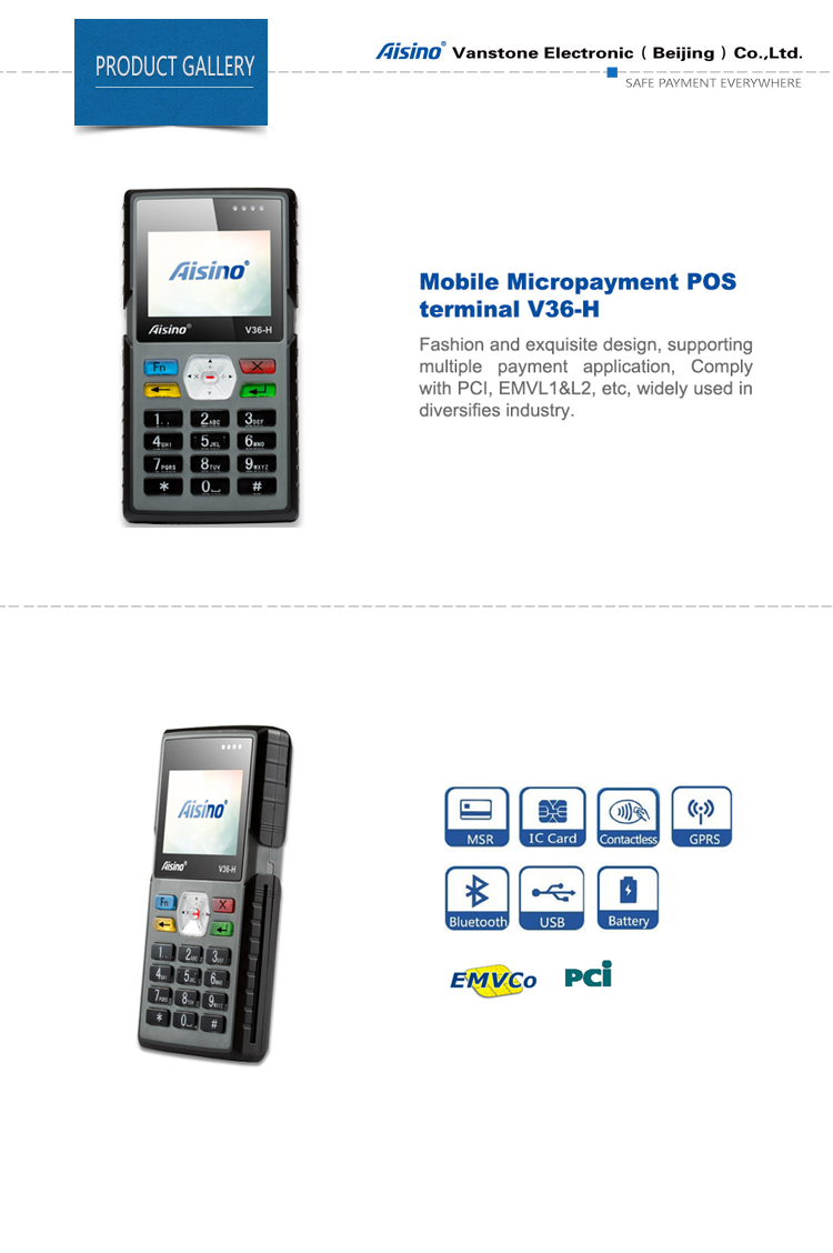 Flexible Diversified Micropayment Pos,V36-h - Buy Mobile ...
