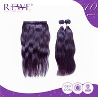Samples Are Available Various Colors Free Tangle Brazilain Human Hair Grade 8A Weave
