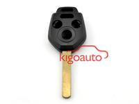 Remote case 3 button+panic DAT17 for Subaru car key shell
