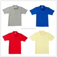 Wholesale custom 100% polyester high quality low price polo shirt
