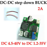 dc dc step down output voltage regulator 4V- 40V to 1.5V-35V high efficiency current 3A max good quality PCB board low price
