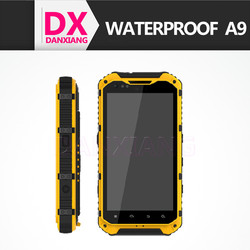 4.3 inch A9 waterproof ip68 phone rugged android 4.2 waterproof outdoor mobile phone