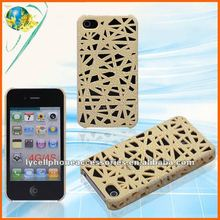 Hotsale Bird Nest Gray Nets Shell hard back cover For Iphone 4G