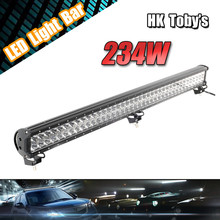 234W automobile waterproof IP67 LED atv light bar for 4x4 accessories TOYOTA