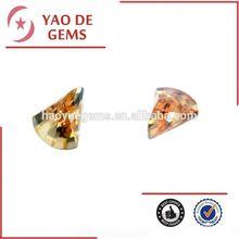 Fashion Colorful Gemstone Axe, CZ Gems, Precious Gemstone for jewelry