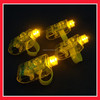 yellow colour led finger light for party decoration