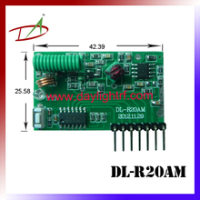 ASK radio frequency 433.92mhz ev1527 learning code decoder