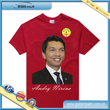 Customized president election t-shirt, new election t-shirts for wholesale china