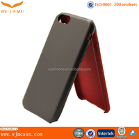factory leather mobile accessories fancy pc leather cover for iphone 6