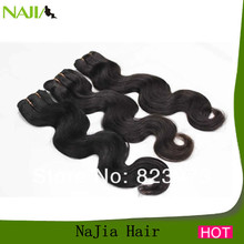 100% human 5A quality body / loose wave wholesale top virign brazilian hair extension