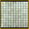 """Cream Marfil marble mosaic 12""""x12"""""""