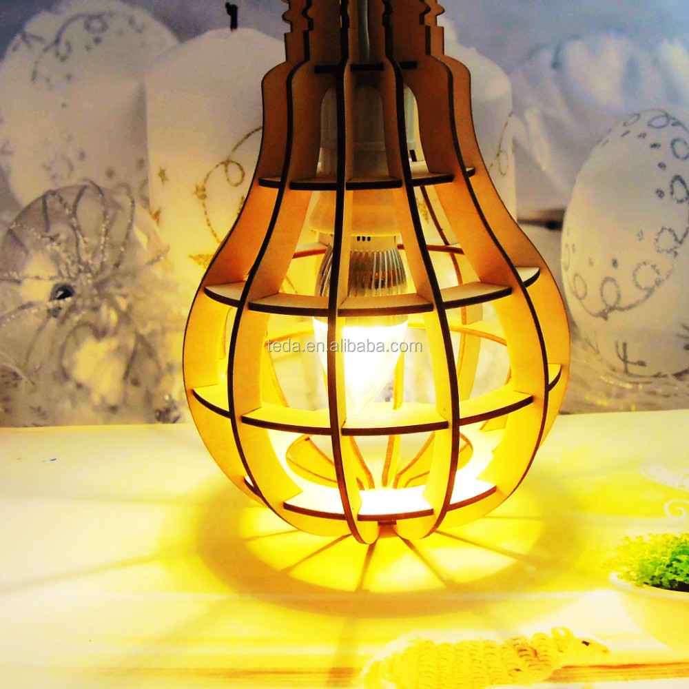 Wood Light Lampshade (14)