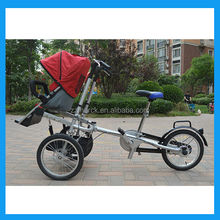 mother baby stroller bicycle