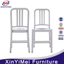 Garden design side navy chair with high quality