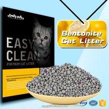 Sample Free Cat Products lemon Flavour Bentonite Cat Sand 5KG