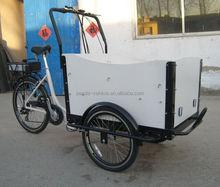 electric rickshaw / 3 wheel cargo bike for Children/ bike electric