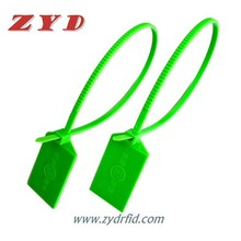 cheap disposable rfid nylon cable tie tag with Ultrlight chip