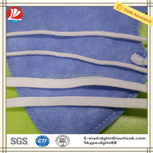6.0mm flat elastic band ear loop for surgical face mask