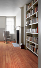 Recycle Bamboo Dark Oak Color Indoor Vertical Bamboo Flooring-KE-V02033