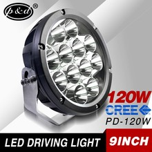 9 inch 120w 10440LM round led headlight 4x4 accessories for truck suv atv jeep wrangler