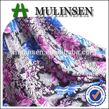 Mulinsen textile 118D FDY polyest printed fabric for cycle jersey
