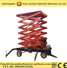 new Manual mobile motorcycle lift motorcycle scissor lift hydraulic scissor lifts\6m