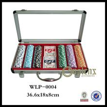 Modern Design Aluminum Texas Holdem Poker Set