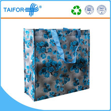 promotional bag shopping cosmetic recyclable bag with logo