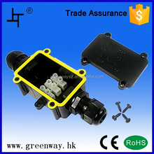 3 pole nylon terminal box ip68 for underwater light