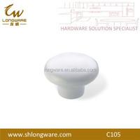 White Ceramic Bed Knob Wholesale