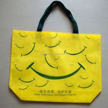 hot sale shopping bag non woven, lebration banded bag, laminated material juice spout pouch