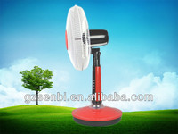 Rechargeable 16 inch solar non electric fans