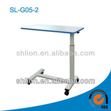 movable morden Overbed Table With Four Directional Castors medical facilities,movable conference table